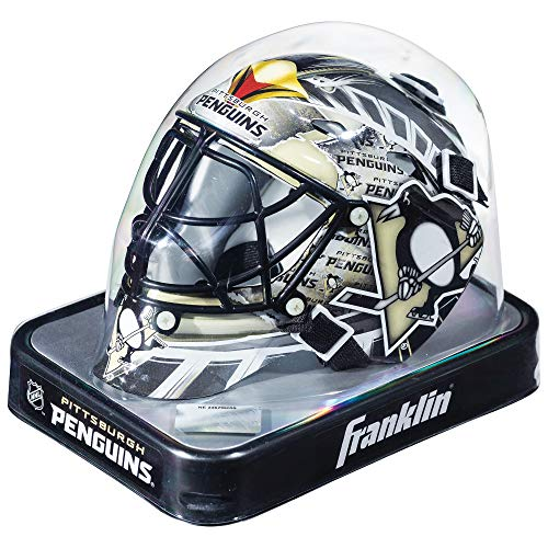 Franklin Sports NHL League Logo Pittsburgh Penguins Mini Goalie Mask ()