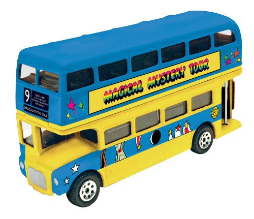 (Factory Entertainment The Beatles Magical Mystery Tour Famous Covers Collectable Die-Cast Bus )