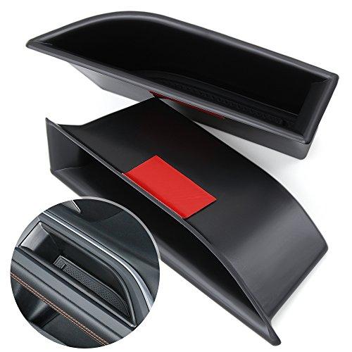 Delantero de Coche tirador de puerta Apoyabrazos Caja de almacenamiento contenedor bandeja para Peugeot 30085008GT...