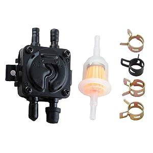 Ketofa Vacuum Fuel Pump for Commins Onan Generaror Welder 149-1982 149-1544 149-2187 149-2187-01 Replace John Deere F-910 F-930 116 316 318 420