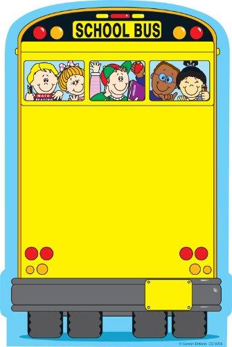 Carson Dellosa School Bus Notepad (9206) Teacher Memo Sheets