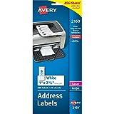 Avery Mini-Sheets Laser/Inkjet Mailing Labels (AVE2160)