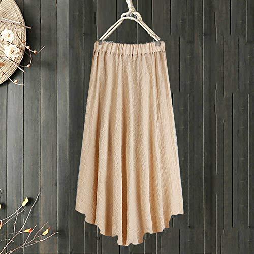 Jersey Robe Automne Manches Hiver Tendance de Manches Longues Robe Elgant Coton Femme Kaki Vintage en Mode Chic Longues Nouveau rqPSr