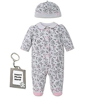 Little Me Girl Footie Footed Sleeper Sleep N Play Hat & Keychain Black Toile 3M (B01BUKMXOO) | Amazon price tracker / tracking, Amazon price history charts, Amazon price watches, Amazon price drop alerts