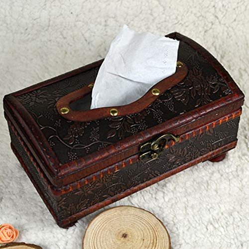 Haga Napkin Holder Wood handmade rectangular wooden for sale  Delivered anywhere in USA