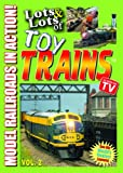 Lots & Lots of Toy Trains For Kids DVD Volume 2 - Model Railroads in Action
