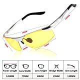 Polarized Professional HD Night Vision Driving Glasses Outdoors Anti-glare Sunglasses