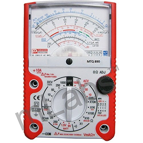 mlabs MetroQ Analogue Multimeter with MTQ 890 Holster Price & Reviews