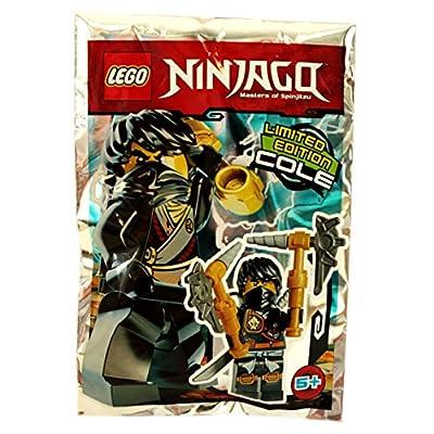 """'Lego Ninjago - Figura """"Cole - Blue Ocean: Juguetes y juegos"""
