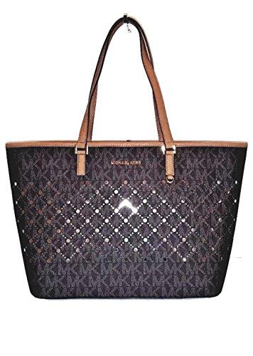 Michael Kors Violet Shoulder Bag (Brown) by Michael Kors