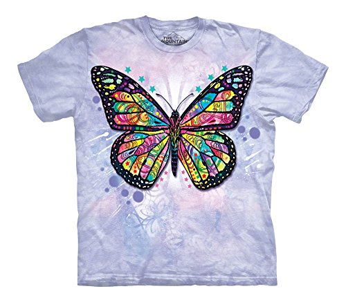 - The Mountain Kid's Butterfly T-Shirt, Purple, Small