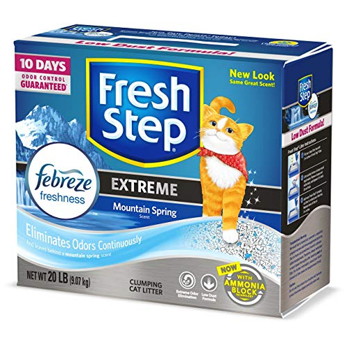 Fresh Step Extreme With Febreze Freshness Clumping Cat Litter Scented 20 Pounds