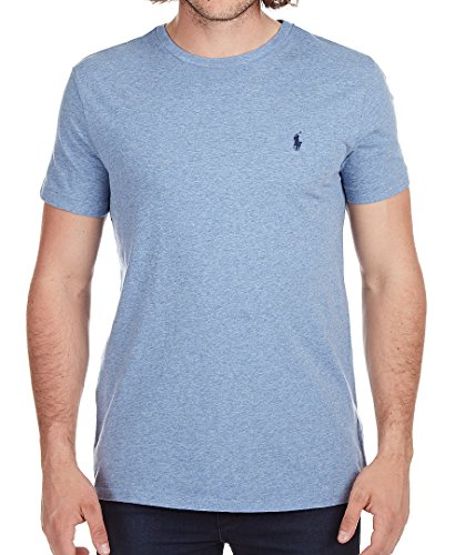 8172a7ae325f4 Galleon - Polo Ralph Lauren Men s Classic Fit Solid Crewneck T-Shirt (Medium
