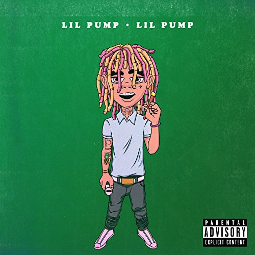 Original album cover of Lil Pump by Lil Pump