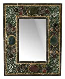 Ganesh Mall Artistic Stone Picture Frame, Green