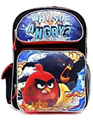 Angry Birds 16 inches Large Backpack - WHY SO ANGRY? New Licensed