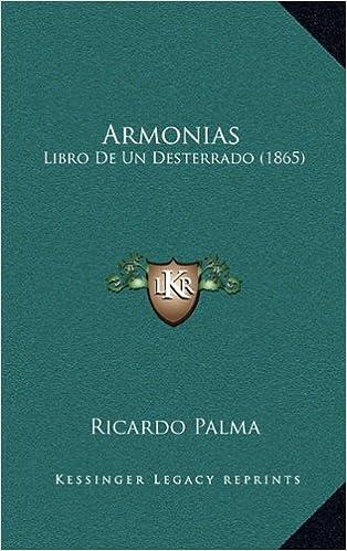 Armonias: Libro de Un Desterrado (1865)