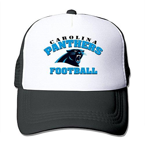 Price comparison product image LINNA Carolina Sport Football Team Cotton Hats Jogging Cap Hat For Outdoor Sports Black