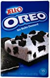 Jell-O Oreo No Bake Dessert, Pack of 2 12.6oz (357g)