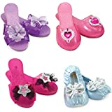 """Melissa & Doug Role Play Collection, Step In Style! Dress-Up Shoes, Pretend Play, Set (4 Pairs), 11"""" H x 12"""" W x 4.5"""" L"""