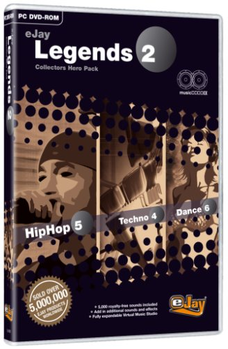 Amazon com: eJay Legends 2 (Collector's Hero Pack - HipHop 5