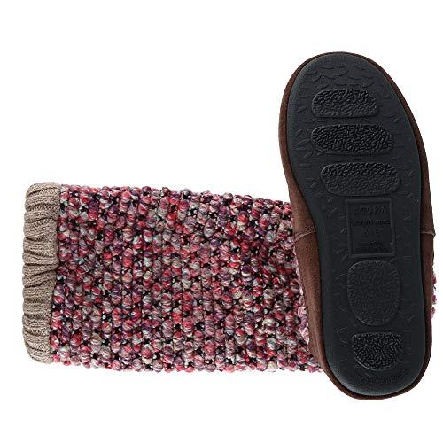 Al Acorn Aire Mujer Libre Frambuesa Interior Bota Zapatillas Mermelada De Borla Para 66AYq