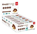 SimplyProtein Bar, Peanut Butter Chocolate, GF and Vegan, 1.4 Ounce (Pack of 15)