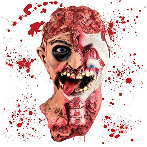 Zombie Halloween Props - Pawliss Halloween Decorations, Scary Fake Bloody