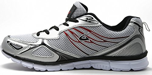Mens Sneakers Comfort Training Athletic Running Shoes Grey jdBsWXC2