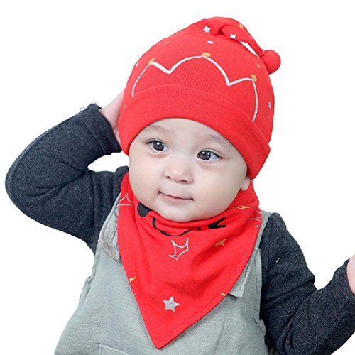 baby-scarf-and-hattodaies-2pcs-set-cotton-baby-boy-girl-cap-hat-bib-head-scarf-toddler-saliva-1pc-re