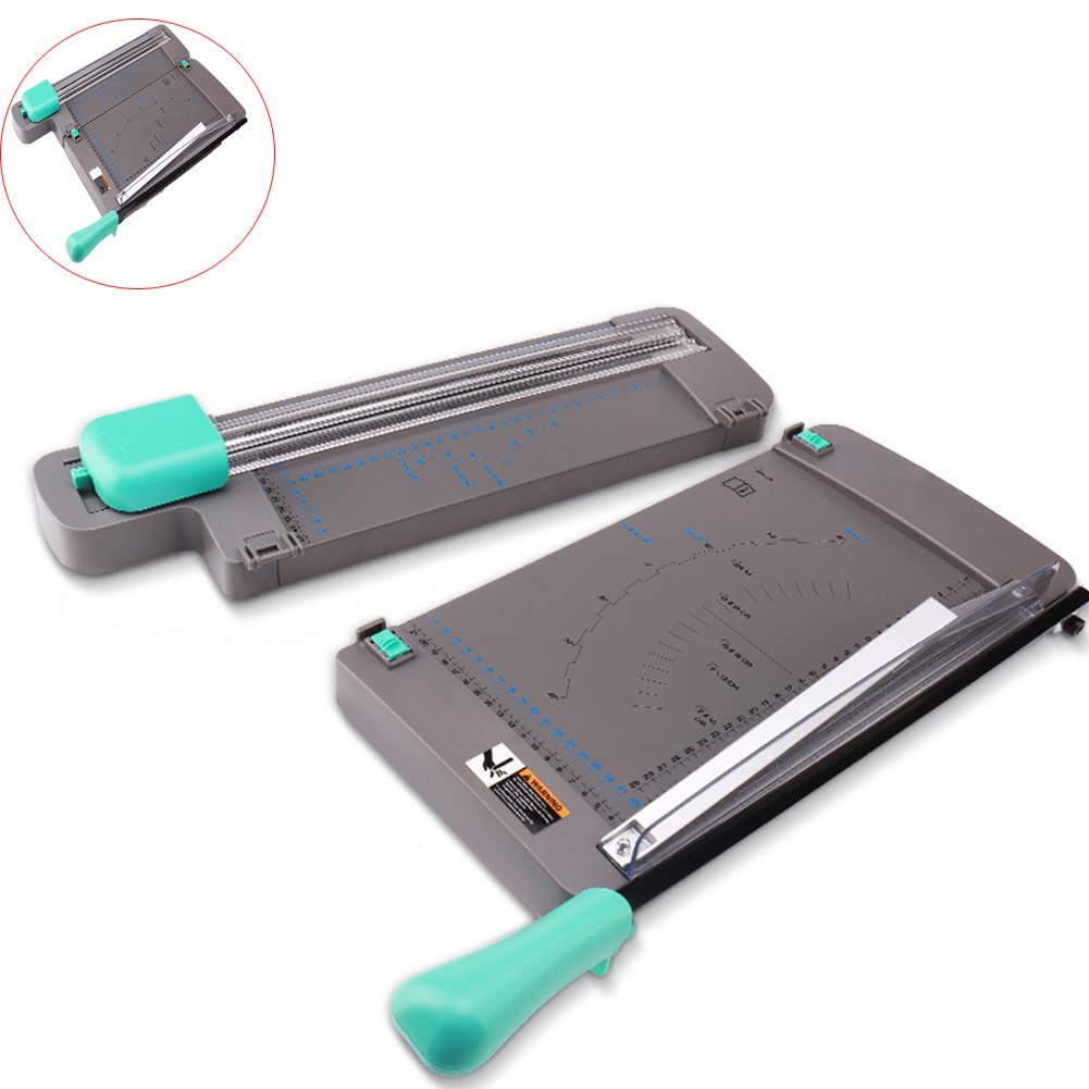 LYzpf Paper Cutter Guillotine Foldable Metal Manual Cutting Machine Photo A4 Wear Resistant Trimmer for Office Home School Depot by LYzpf