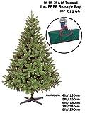 NEW COLORADO GREEN ARTIFICIAL CHRISTMAS TREE ((6FT - CT03237))
