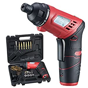 AOBEN Cordless Rechargeable Screwdriver 3 6-Volt 1300mAh Li-ion included  Driver Bits and Charging Cable