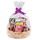 """Cellophane Bags,Clear Cellophane Wrap for Baskets, Gifts 24""""x 30"""" (20 Pack): more info"""