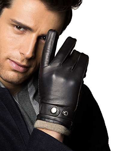 mens-lambskin-leather-cashmere-lined-winter-gloves-touchscreen-95-lblack