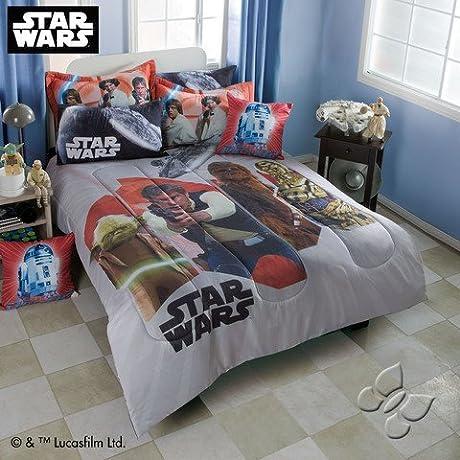 Star Wars Comforter Sheet Set Size Full