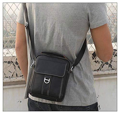 sac Bag Rétro Pour Bandoulière Zhuhaimei À Homme Style Sac Slant Café Simple dwZgWz4Wp