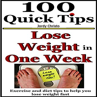 How to lose weight with exercise in one week