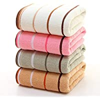 Qrity 4X Toallas de Mano, Juegos de Toallas, Toallas de baño Toallas de baño de algodón Hoja de baño de Lujo para el…