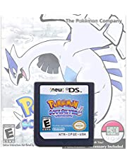 $27 » Pokemon Soul Silver Version Games Card Cartridge Compatible with Nintendo DS/2DS/3DS/DSI/2DSXL/3DSXL (Not Support Above Version 11.0) - Reproduction Version