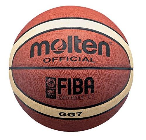 Molten Basketball - 7, Orange/Beige