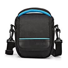 CAISON Camera Case Shoulder Bag For Compact System Mirrorless Camera Canon EOS M6 M5 M3 M10 PowerShot SX540 HS SX430 IS / SONY A6500 A6300 A6000 A5100 / NIKON 1 J5 COOLPIX B700 B500 / OLYMPUS E-PL 8