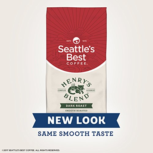 Seattle's Best Coffee Henry's Blend Medium Roast Ground Coffee, 12-Ounce Bag