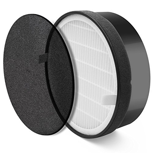 (Nispira HEPA Air Filter Replacement Compatible with Levoit Air Purifier LV-H132, Compared to Part LV-H132-RF, 1 Set)