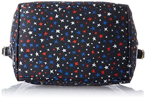 Tommy Hilfiger - Poppy Small Tote Star Print, Bolsos de mano Mujer, Multicolore (Star Print), 23x15x22 cm (W x H L)