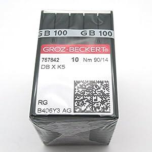 KUNPENG - 100 Groz Beckert DBXK5 Embroidery Sewing Machine Needles FIT FOR Tajima Barudan SWF by KUNPENG