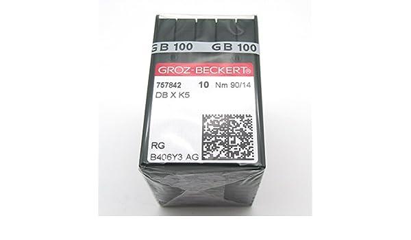 100 Groz Beckert DBXK5 Embroidery Sewing Machine Needles FIT for Tajima Barudan SWF Size 75//11 KUNPENG