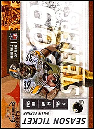 Amazon com: 2009 Playoff Contenders Season Tickets #78