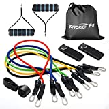 Kivorich Fit Resistance Bands, Exercise Bands for Training, Physical Therapy, Home Workouts, Workout Bands Set with Door Anchor, Ankle Straps Review
