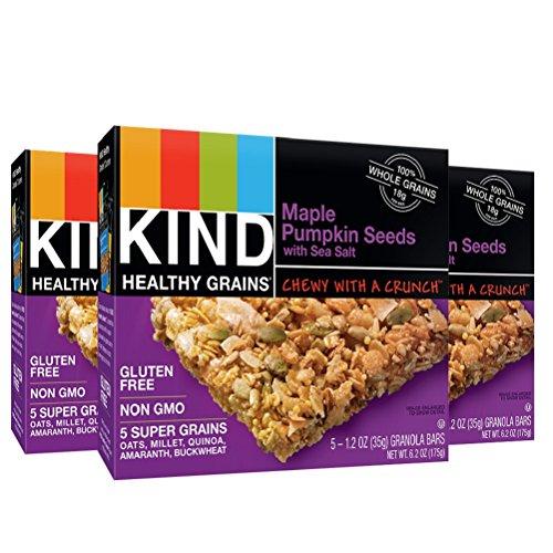 KIND Healthy Grains Granola Bars, Maple Pumpkin Seeds